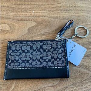 NWT Vintage Coach Keychain/ID holder